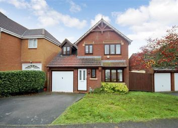 Thumbnail 3 bed detached house for sale in Thornhill Drive, St Andrews Ridge, Swindon