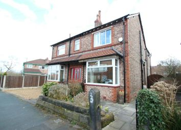 Thumbnail 3 bed semi-detached house for sale in Cleveland Road, Hale, Altrincham