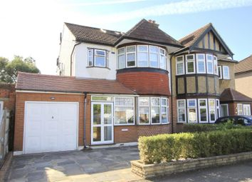 Thumbnail 4 bed semi-detached house for sale in Abbotsbury Gardens, Eastcote, Pinner