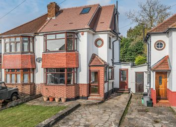 Thumbnail 4 bed semi-detached house to rent in Crescent Drive, Petts Wood, Orpington, Kent