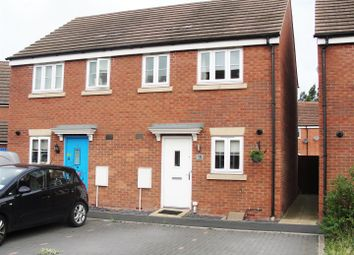 Thumbnail Semi-detached house for sale in Wagon Way, Hempsted, Gloucester