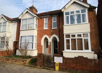 Thumbnail 3 bed terraced house to rent in Spenser Road, Bedford