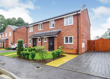 Thumbnail 3 bed semi-detached house for sale in Saxelby Close, Riddings, Alfreton