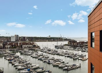 Thumbnail 2 bed flat to rent in The Hawkins Tower, Ocean Way, Ocean Village, Southampton