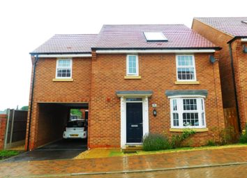 Thumbnail 4 bed detached house for sale in Oulton Close, Burton Latimer, Kettering
