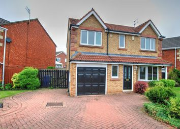 Thumbnail 4 bedroom detached house for sale in Sweetbriar Way, Blyth