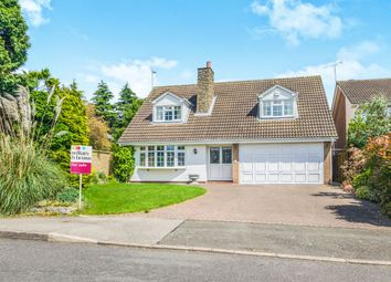 Thumbnail 4 bedroom detached house for sale in The Yews, Oadby, Leicester