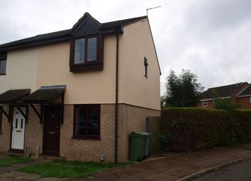 Thumbnail 2 bed semi-detached house to rent in Lindley Close, Norwich