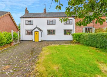 Thumbnail 4 bed cottage for sale in Eccleshall Road, Hookgate, Market Drayton