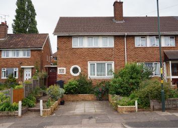 Thumbnail 2 bed end terrace house for sale in Shelfield Road, Birmingham