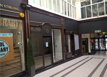 Thumbnail Retail premises to let in 8-10, Stirling Arcade, Stirling, Stirling