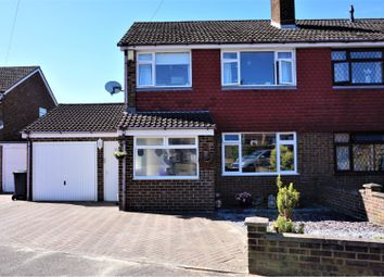 Thumbnail 4 bed semi-detached house for sale in Kinross Crescent, Luton