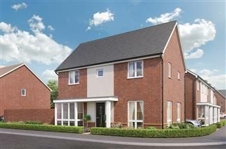Thumbnail 3 bed detached house for sale in Beggarwood Lane, Basingstoke