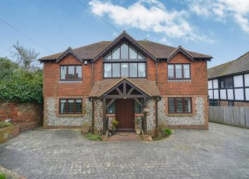 Thumbnail 5 bed detached house for sale in Gorham Avenue, Rottingdean, Brighton
