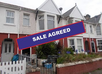 Thumbnail 4 bed terraced house for sale in Queens Avenue, Porthcawl