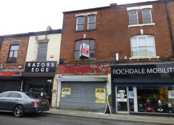 Thumbnail Retail premises to let in 142 Yorkshire Street Rochdale, Rochdale