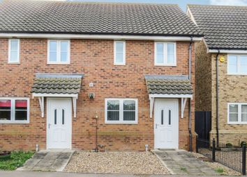 Thumbnail 2 bedroom semi-detached house for sale in Aspal Lane, Beck Row, Bury St. Edmunds