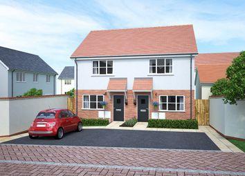 Thumbnail 2 bedroom semi-detached house for sale in Tews Lane, Barnstaple, Devon