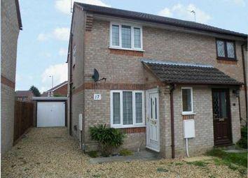 Thumbnail 2 bedroom semi-detached house to rent in Caldbeck Close, Gunthorpe, Peterborough