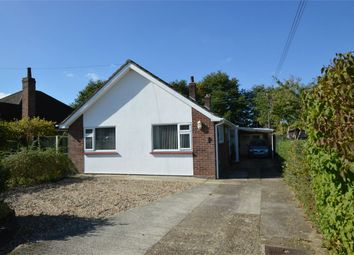 Thumbnail 3 bed detached bungalow for sale in South Wood Drive, Caistor St Edmund, Norwich