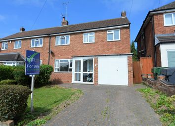 Thumbnail 3 bed semi-detached house for sale in Douglas Road, Hollywood, Birmingham