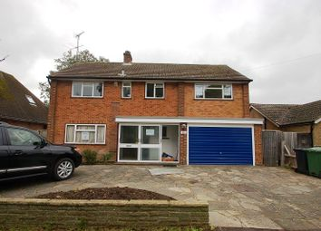 Thumbnail 5 bed detached house to rent in Grove Road, Harpenden, 1