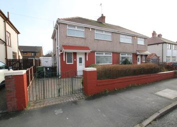Thumbnail 3 bedroom semi-detached house to rent in Trevor Drive, Crosby, Liverpool