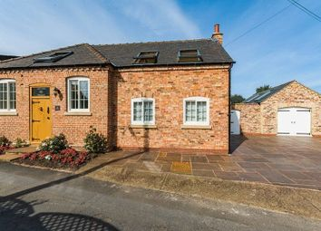 Thumbnail 3 bed detached house for sale in Chapel Lane, Snitterby, Gainsborough