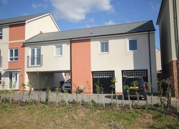 Thumbnail 2 bedroom flat to rent in Burrough Fields, Cranbrook, Exeter
