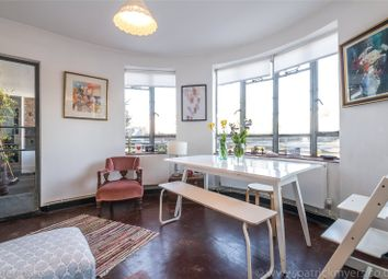 Thumbnail 2 bed flat for sale in Ruskin Park House, Champion Hill, London