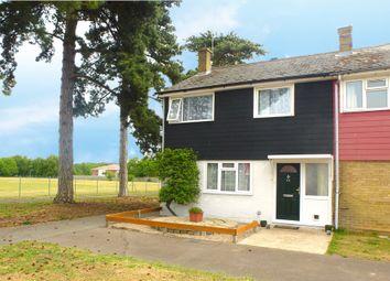 Thumbnail 4 bedroom end terrace house for sale in Pembroke Close, Mildenhall, Bury St. Edmunds