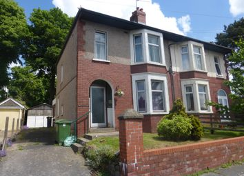 Thumbnail 3 bed semi-detached house for sale in Castle Crescent, Rumney, Cardiff
