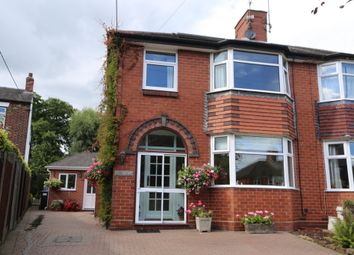 Thumbnail 4 bed semi-detached house for sale in Stallington Road, Blythe Bridge
