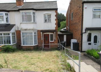 Thumbnail 3 bed semi-detached house for sale in Stechford Road, Hodge Hill, Birmingham, West Midlands