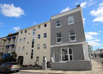 Thumbnail 1 bed flat for sale in First Floor Flat, St James Place West, The Hoe, Plymouth