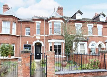 Thumbnail 4 bed town house for sale in Clifton Road, Rugby
