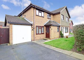 Thumbnail 3 bed semi-detached house for sale in Trinity Way, Littlehampton, West Sussex