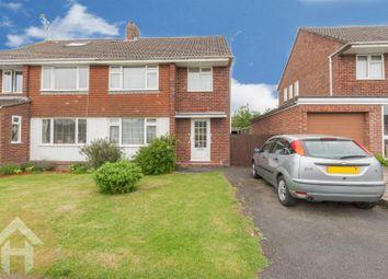 Thumbnail 3 bedroom semi-detached house for sale in Noredown Way, Royal Wootton Bassett, Swindon
