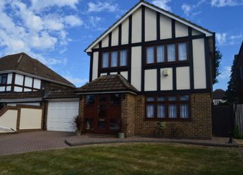 Thumbnail 4 bedroom detached house for sale in Dalewood Close, Hornchurch