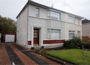 Thumbnail 3 bed semi-detached house for sale in Bathgo Avenue, Paisley