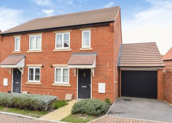 Thumbnail 2 bed semi-detached house for sale in Brett Linley Gardens, Didcot