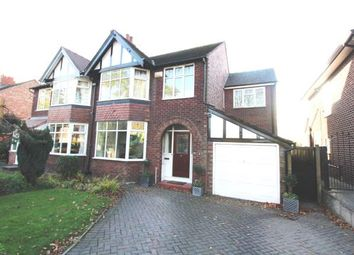 Thumbnail 5 bed semi-detached house for sale in High Grove Road, Cheadle, Cheshire