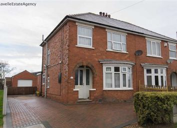 Thumbnail 3 bed property for sale in Northlands Road, Winterton, Scunthorpe