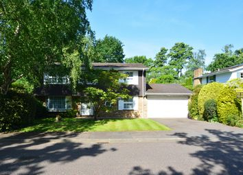 Thumbnail 4 bed detached house for sale in St Huberts Close, Gerrards Cross