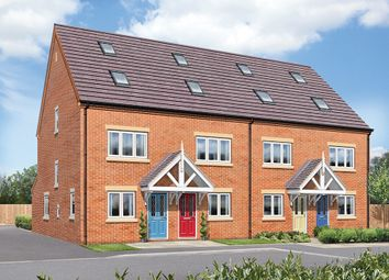 Thumbnail 3 bed town house for sale in The Hawthorne, Greendale Gardens, Hucknall, Nottinghamshire