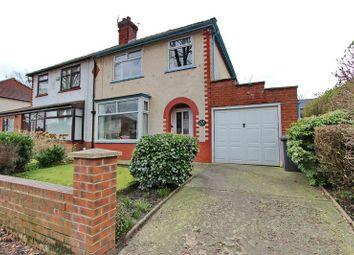 Thumbnail 3 bedroom semi-detached house for sale in Spencer Avenue, Whitefield, Manchester