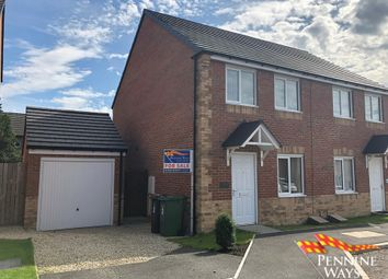 Thumbnail 3 bedroom semi-detached house for sale in Gibson Close, Haltwhistle, Northumberland