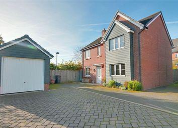 Thumbnail 4 bed detached house for sale in Saffron Crescent, Sawbridgeworth, Hertfordshire