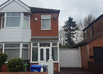 Thumbnail 3 bed semi-detached house to rent in Santon Avenue, Fallowfiled, Manchester