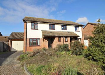Thumbnail 3 bedroom semi-detached house for sale in Foxglove Close, Highcliffe, Christchurch